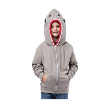 Child Shark Hooded Sweatshirt