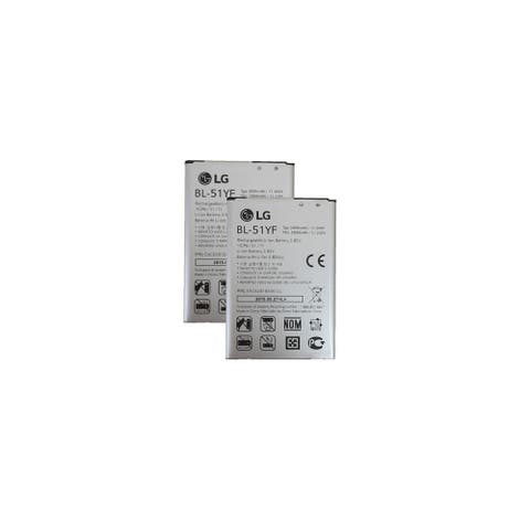 Replacement For LG BL-51YF Mobile Phone Battery (3000mAh, 3.85V, Li-Ion) - 2 Pack