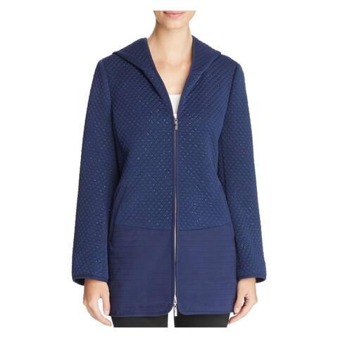 Finity Womens Jacket Hooded Metallic