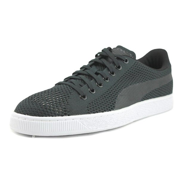 096c04742e5 Shop Puma Basket Classic evoKNIT Men Black-Black-Black Sneakers ...