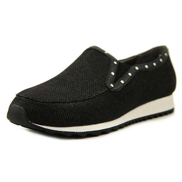 Easy Spirit Limara 2 Women W Round Toe Synthetic Black Walking Shoe