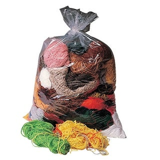Trait Tex Acrylic Remnant Yarn Pack, Assorted Size, Assorted Bright and Earthtone Color, 1 lb