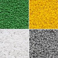 Exclusive Beadaholique Toho Seed Bead Palette, Round 11/0, 32 Grams, Wimbledon