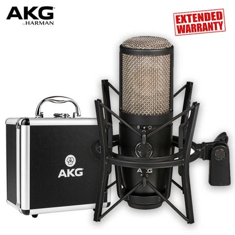 AKG Project Studio P420 Multi-Pattern Large-Diaphragm Condenser Microphone - Includes - 2-Year Extended Warranty
