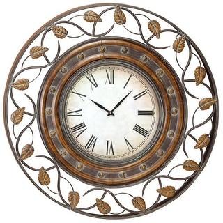 "Aspire Home Accents 57720 36"" Decorative Iron Wall Clock"