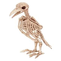 Skeleton Raven Halloween Decoration