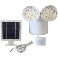 KANSTAR Solar 22 SMD Motion Sensor Security Flood Light (White)