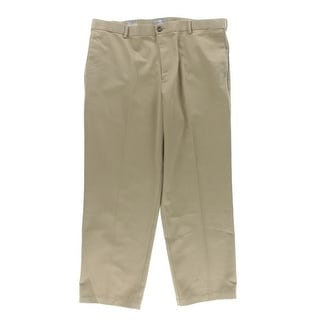 Dockers Mens Twill Comfort Waistband Khaki Pants