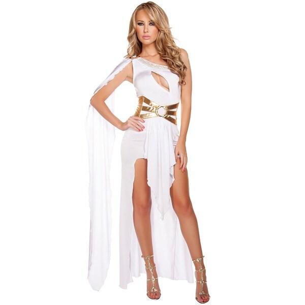 d2866c17f8275 Grecian Babe Costume, Hoty Greek Costume - White/Gold