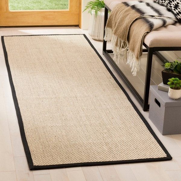 Safavieh Natural Fiber Pacific Casual Border Sisal Rug. Opens flyout.