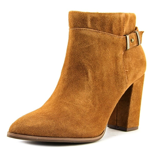 Seychelles Company Women Pointed Toe Suede Bootie