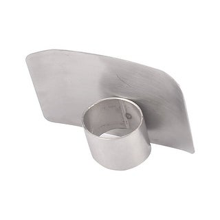 Kitchen Stainless Steel Safe Chop Hand Guard Cutting Slice Finger Protector