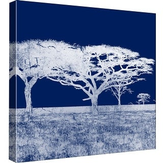 """PTM Images 9-98795  PTM Canvas Collection 12"""" x 12"""" - """"Screened Tree N"""" Giclee Rural Art Print on Canvas"""