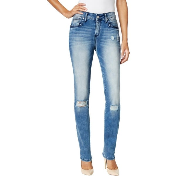 a4b50ca06d4 Shop Calvin Klein Jeans Womens Skinny Jeans Curvy Distressed - Free  Shipping On Orders Over $45 - Overstock - 19891380