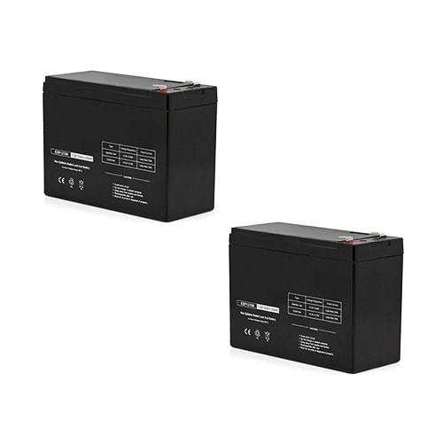 Replacement AGM SLA Battery 12V-10Ah 2-Pack Replacement AGM SLA Battery