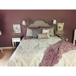 Madison Park Morena Cotton Duvet Cover 6 Piece Set Free Shipping Today Overstock 18382002