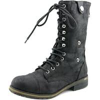 Madden Girl Destinn Women Black Boots