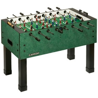 Carrom Agean Green PREASSEMBLED Foosball Table Soccer Model 750.23