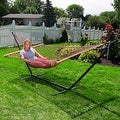 Sunnydaze Caribbean XL Rope Hammock with Spreader Bars - Multiple Colors Availab - Thumbnail 15