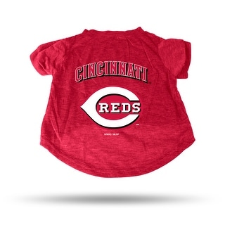Cincinnati Reds Pet Tee Shirt Size XL