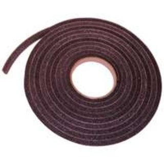 """Frost King L347 Char Open Cell Tape, 3/4"""" x 3/8"""" x 17'"""