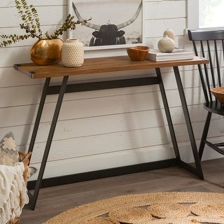 Link to Carbon Loft Kenyon Metal Wrap Entry Table Similar Items in Living Room Furniture