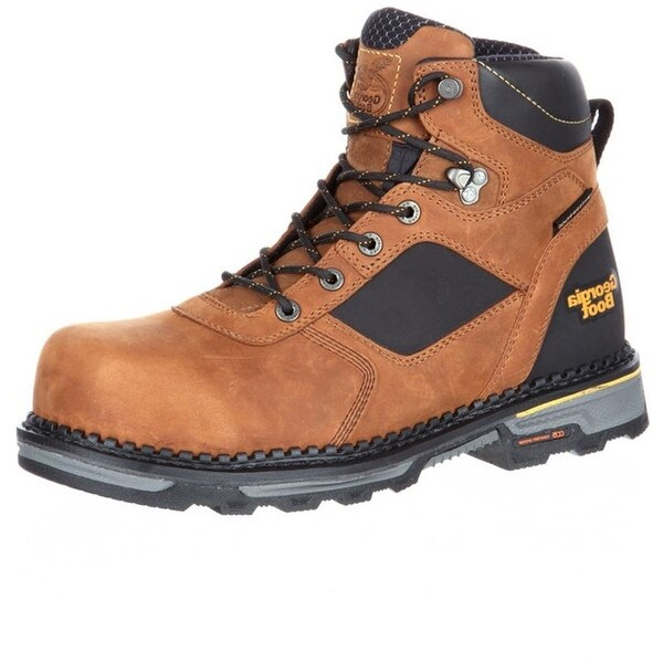 Georgia Boot Work Mens Hammer HD Composite Waterproof Brown