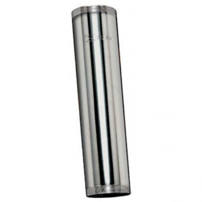 Keeney 1161K Chrome Plated Threaded Tube, 1-1/4 x 12, 20 Gauge