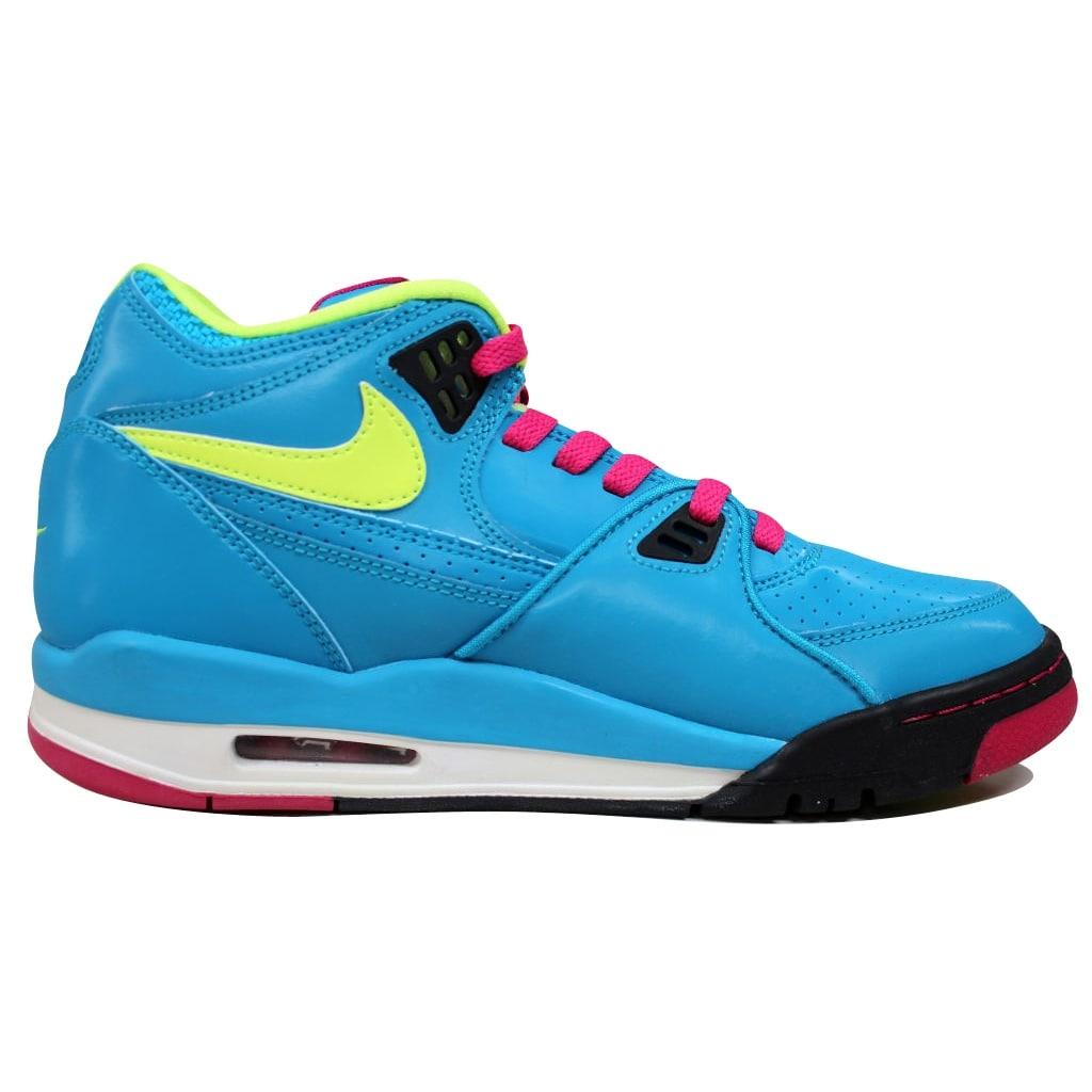 e64072f4 Shop Nike Men's Air Flight 89 Dynamic Blue/Volt-Fireberry-Black London  306252-400 - Free Shipping Today - Overstock - 19507298
