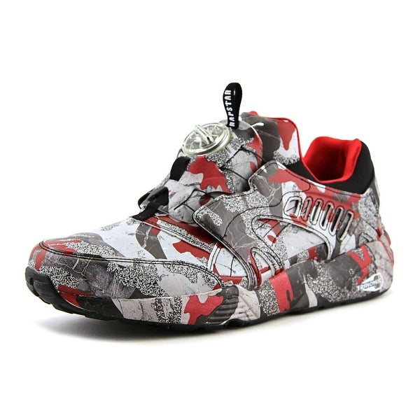 Puma Disc Blaze Camo x Trapstar Round Toe Synthetic Sneakers. Click to Zoom 3001d0981