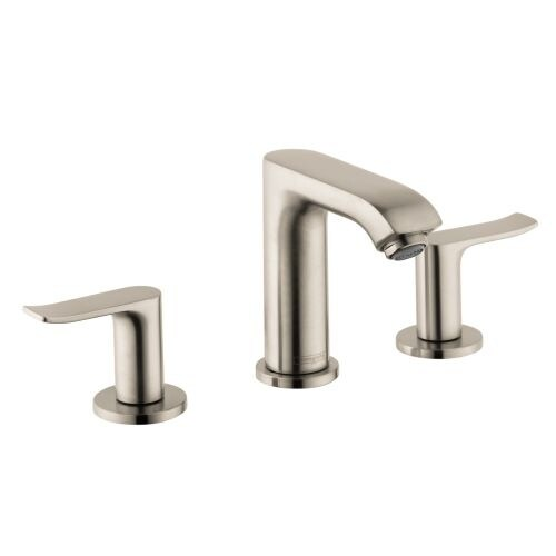 Hansgrohe 31083 Metris Widespread Bathroom Faucet With EcoRight, Quick Clean,  And ComfortZone Techno   Free Shipping Today   Overstock.com   22681971