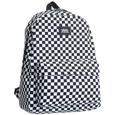 Vans Big Boys' kool II Backpack - Checker - Black/Charcoal - One size
