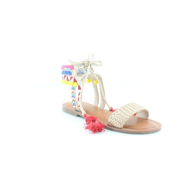 Pink & Pepper Doe Women's Sandals & Flip Flops Gold Multi