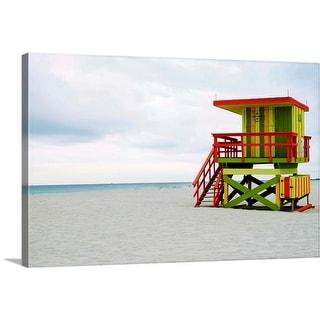 """""""Miami South beach patrol"""" Canvas Wall Art"""