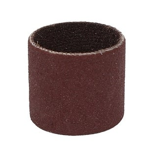 14mm Diameter 320 Grit Sanding Drums Abrasive Spiral Band Sleeves Rolls