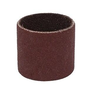 14mm Diameter 320 Grit Sanding Drums Abrasive Spiral Band Sleeves Rolls
