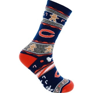 Chicago Bears Ugly Christmas Socks