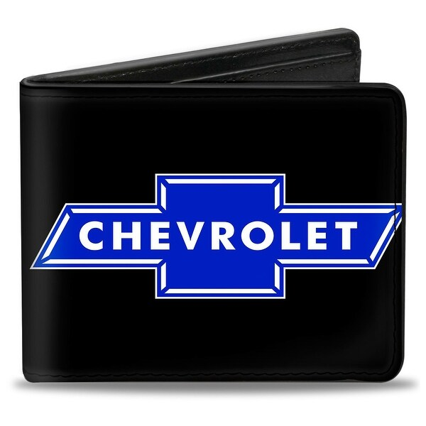 Chevy Bowtie Logo Centered Bi Fold Wallet - One Size Fits most