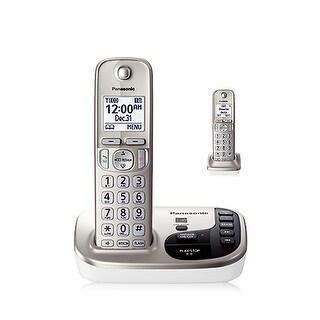 Panasonic KX-TGD222N 2 Handset Expandable Cordless Phone DECT 6.0 New