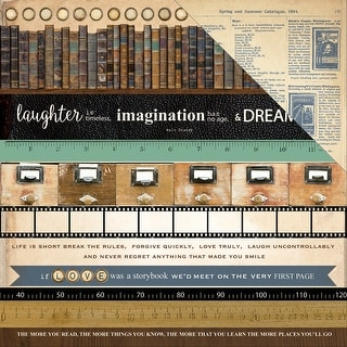 """Story Book Double-Sided Cardstock 12""""X12""""-Read"""