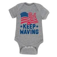 Keep Waving  - Infant One Piece