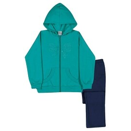 Girls Outfit Hoodie Jacket and Pants Set Kids Pulla Bulla Sizes 2-10 Years