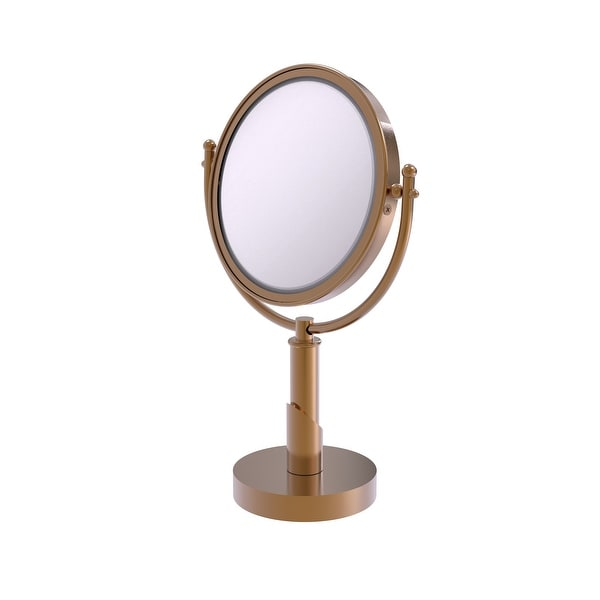 Allied Brass Soho Collection 8-in Vanity Top Make-Up Mirror 2X Magnification