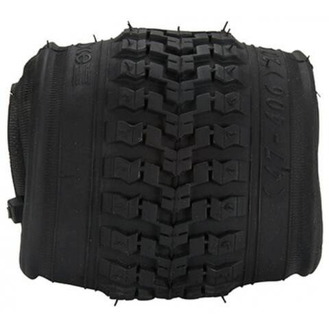 "Huffy 00318TR Youth Bike Tire, 20"" x 1.75"", Black"