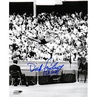 Dick Fosbury 1968 Olympics High Jump BW 8x10 Photo W68 Gold