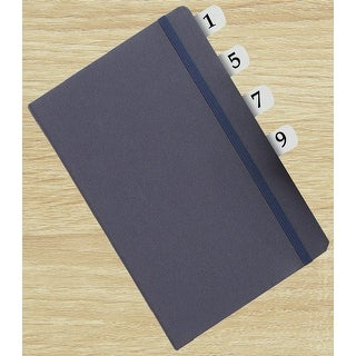 Redi-Tag Permanent Index Tabs - 1-10 Side Style 104/Pkg-White W/Black Numbers