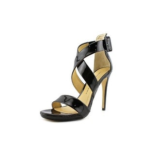 Chinese Laundry Black Jack Women Open Toe Synthetic Platform Sandal