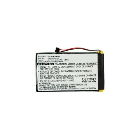 New Replacement Battery For GARMIN 361-00051-02 GPS Models
