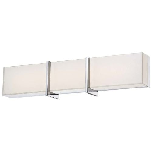 "Minka Lavery 2922-77-L 1 Light 24.25"" Width LED ADA Bath Bar from the High Rise Collection"