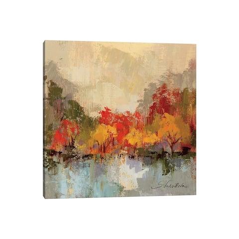 "iCanvas ""Fall Riverside II "" by Silvia Vassileva Canvas Print"